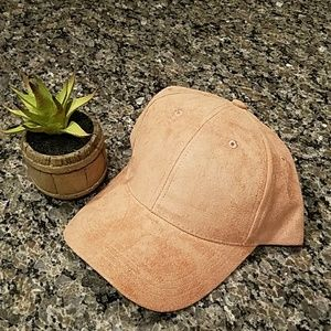 Collection Eighteen Pink Hat with Suede Feel
